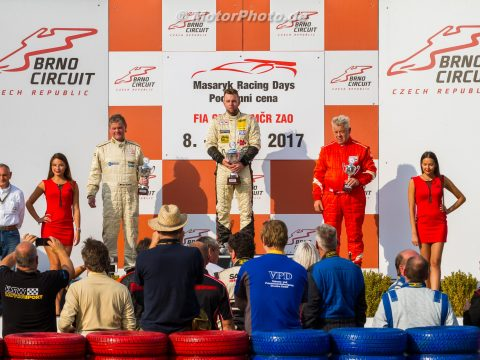 Siegerehrung 7. Wertungslauf Brno 2017